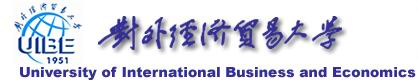 University of International Business and Economic Banner