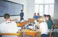 Small class teaching--no more than 6 students in one class
